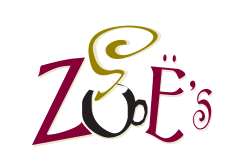 zoes coffe shop logo