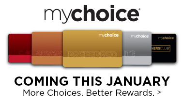 mychoice rewards card logo