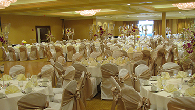 banquet wedding set up